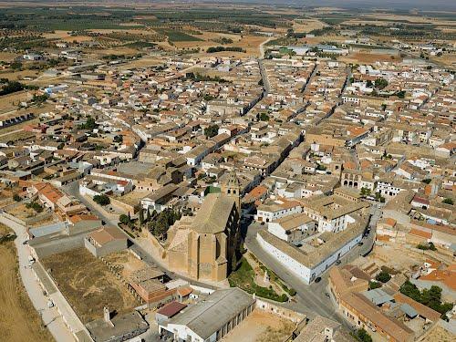 Vista aérea de Villanueva de la Jara